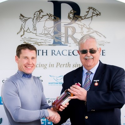 Richard Johnson & Chairman John Gellatly